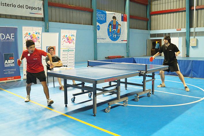 Inacap se impone en el torneo individual de tenis de mesa - Torneo tenis de mesa ...